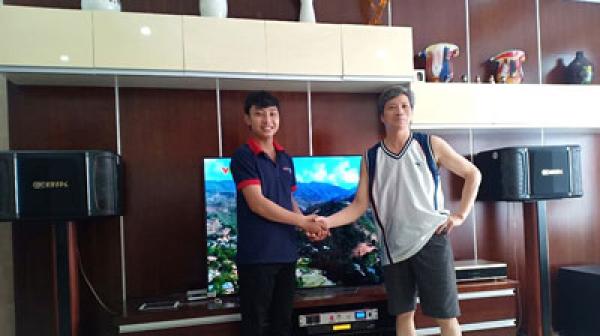 Lắp đặt dàn karaoke BIK gia đình cho chú Thắng tại Bình Thạnh (TP HCM)