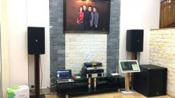 Lắp đặt dàn karaoke chuyên nghiệp cho gia đình Anh Lương tại Diễn Châu Nghệ An
