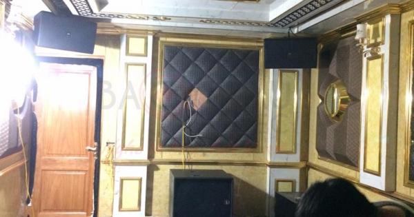 Lắp đặt dàn karaoke chuyên nghiệp cho gia đình anh Nguyên - KĐT Vân Canh (HN)