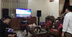 Lắp đặt dàn karaoke gia đình anh Hải tại Hưng Hà (TB)