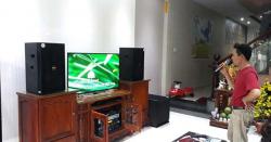 Lắp đặt dàn karaoke gia đình cao cấp cho Cô Miên tại Biên Hoà