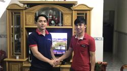 Lắp đặt dàn karaoke gia đình cho anh Tý tại Thuận An (Bình Dương)