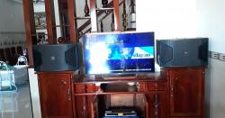Lắp đặt dàn karaoke JBL cực hay cho gia đình anh Sơn tại Biên Hoà