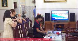 Lắp đặt dàn karaoke JBL gia đình cực hay cho anh Bảo (Bình Tân-TP.HCM)