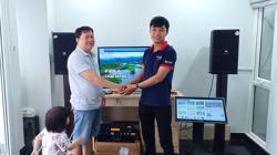 Lắp đặt dàn karaoke VIP cho gia đình anh Dũng tại Tân Bình (TP.HCM)