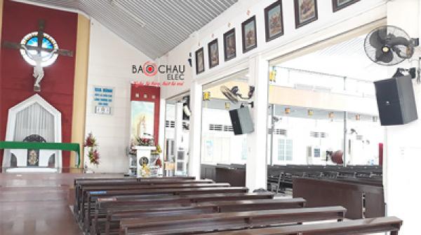 Nâng cấp dàn âm thanh cho nhà thờ Tân Lộc - Biên Hòa (Đồng Nai)