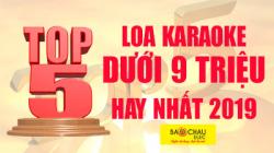 Top 5 loa karaoke dưới 9 triệu hay nhất cho gia đình 2019