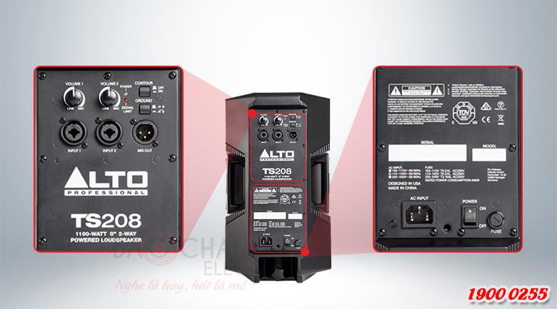 Loa active Alto TS208 (full bass 20cm) Ứng dụng của loa Alto TS208