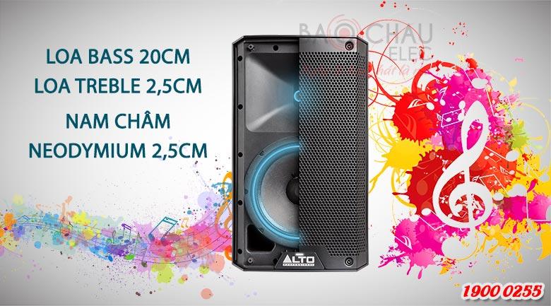 Loa active Alto TS208 (full bass 20cm) Chuẩn mực mới của âm thanh
