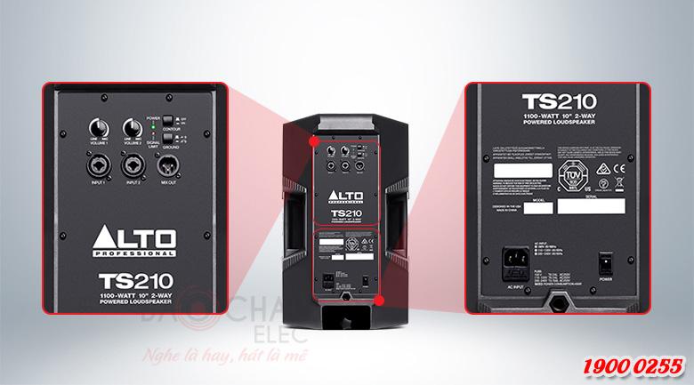 Loa active Alto TS210 Ứng dụng của loa Alto TS210