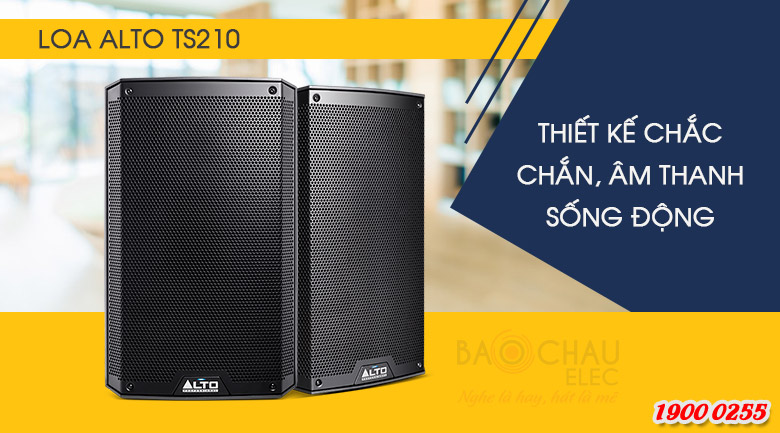 Loa active Alto TS210 Thiết kế chuyên nghiệp tạo ra sự cân bằng lý tưởng