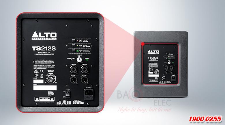 Công nghệ hiện đại của loa sub Alto TS212S