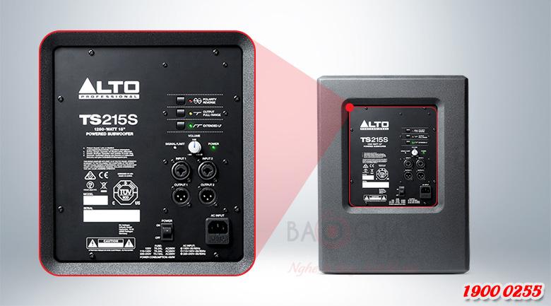 Công nghệ hiện đại của Alto TS215S