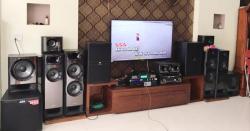 Dàn karaoke gia đình 55 triệu của anh Kiên tại Vĩnh Yên (VP)