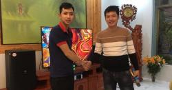 Dàn karaoke gia đình 65 triệu của chị Hương tại Hải Dương