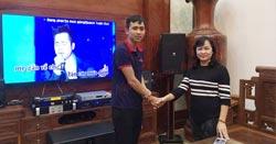 Dàn karaoke hơn 100 triệu của cô Diệp tại Ngô Quyền (Hải Phòng)