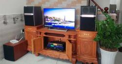 Lắp đặt bộ dàn karaoke gia đình hơn 42 triệu cho anh Hiển tại Cần Giuộc LA