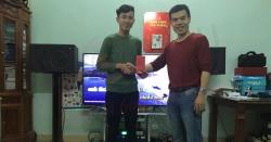 Lắp đặt dàn karaoke 35 triệu cho gia đình chị Hường - Mai Lâm (Đông Anh -HN)