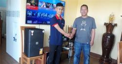 Lắp đặt dàn karaoke gia đình 58 triệu cho anh Khiết tại Biên Hòa