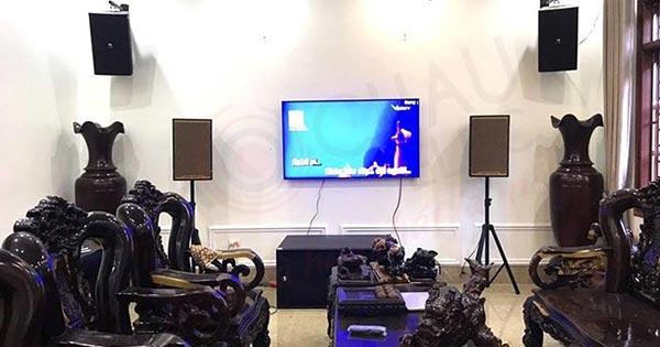 Lắp đặt dàn karaoke gia đình siêu VIP cho anh Huy - Lục Nam (Bắc Giang)