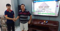 Lắp đặt dàn karaoke JBL cho gia đình anh Liêm ở Long An kịp chơi tết 2019