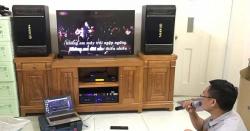 Tư vấn, lắp đặt bộ dàn karaoke gia đình 42 triệu tại Biên Hòa