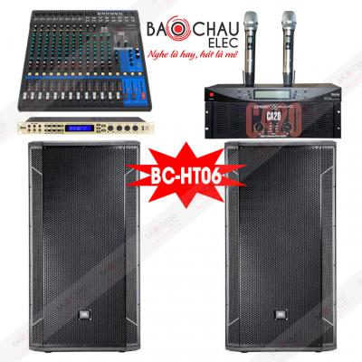 Dàn âm thanh hội trường nhỏ BC-HT06