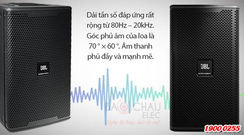 Loa JBL KP052: Góc phủ âm sâu và rộng cho âm thanh mịn