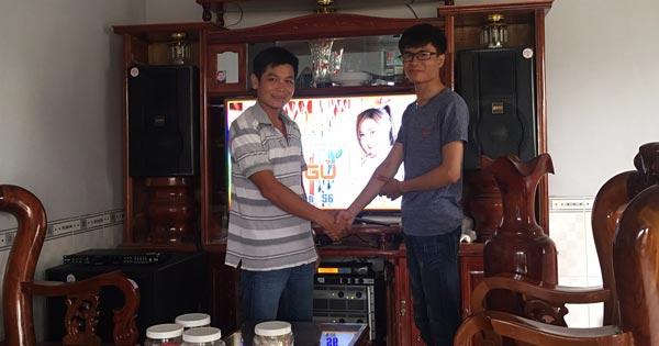 Dàn karaoke gia đình cao cấp của anh Thành - Vĩnh Cửu (ĐN)