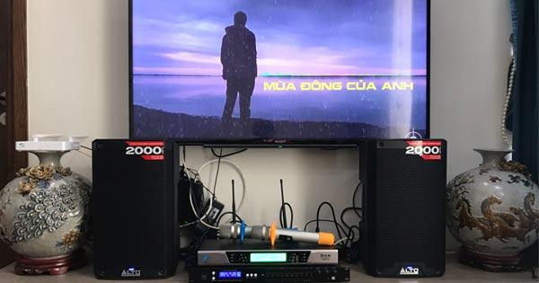 Lắp đặt dàn âm thanh Alto cực hay 25 triệu cho anh Hoàng ở Phạm Văn Đồng (HN)
