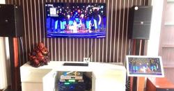 Lắp đặt dàn karaoke cao cấp của gia đình anh Duy ở TP. Bắc Ninh