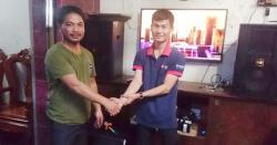 Lắp đặt dàn karaoke gia đình cao cấp cho anh Đạt ở Tân Phú - TPHCM