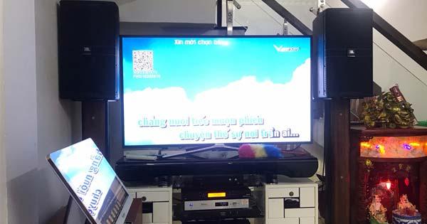 Lắp đặt dàn karaoke gia đình hơn 60 triệu cho anh Tới (Nhà Bè - TPHCM)