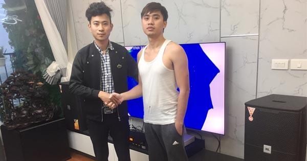Lắp đặt dàn karaoke gia đình chuyên nghiệp cho anh Đáng tại Hà Đông, Hà Nội