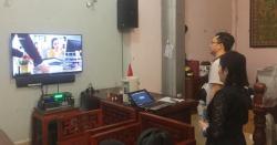 Lắp đặt dàn karaoke gia đình gần 50 triệu cho anh Hoàn tại Nguyễn Xiển HN