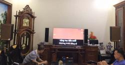 Lắp đặt dàn karaoke gia đình hay, giá tốt cho anh Nam tại An Lão, Hải Phòng