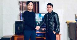 Lắp đặt dàn karaoke gia đình hơn 28 triệu cho anh Hải tại Đồ Sơn - Hải Phòng