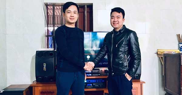 Lắp đặt dàn karaoke hơn 28 triệu cho anh Hải tại Đồ Sơn - Hải Phòng