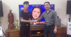 Lắp đặt dàn karaoke gia đình hơn 60 triệu cho anh Nhất ở Long Biên - HN
