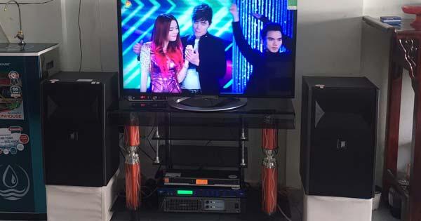 Lắp đặt dàn karaoke hơn 26 triệu cho gia đình anh Chuyên tại Bến Cát (BD)