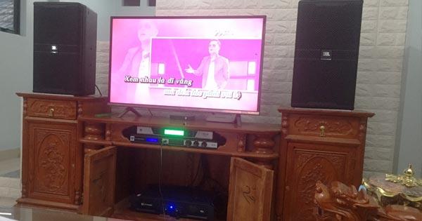 Lắp đặt dàn karaoke hơn 47 triệu cho anh Đông tại An Khánh (Hoài Đức - HN)