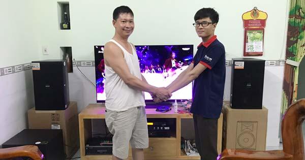 Tư vấn, lắp đặt bộ dàn karaoke gia đình 40 triệu tại Biên Hòa