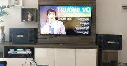 Dàn karaoke gia đình gần 30 triệu của anh Pháp tại chung cư Cao Nguyên - Bắc Ninh