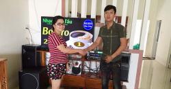 Dàn karaoke gia đình hay, giá rẻ cho anh Dũng ở Long Thành, Đồng Nai