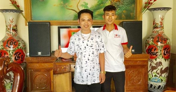 Dàn karaoke gia đình hơn 20 triệu của anh Thịnh tại Hưng Yên