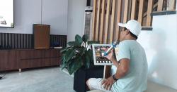 Build dàn karaoke gia đình hơn 60 triệu của anh Sanh tại Hội An