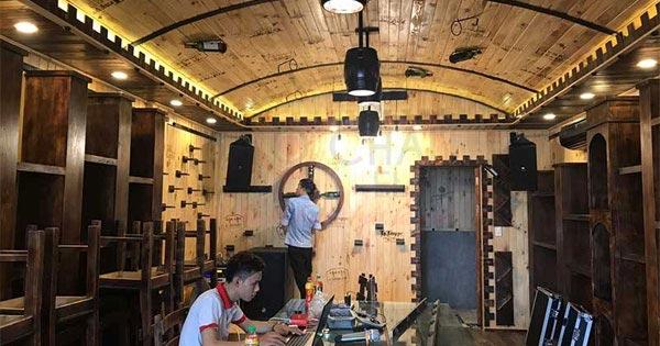 Lắp đặt da âm thanh chuyên nghiệp cho khách sạn Ciao ở Quận Tân Bình, TP.HCM