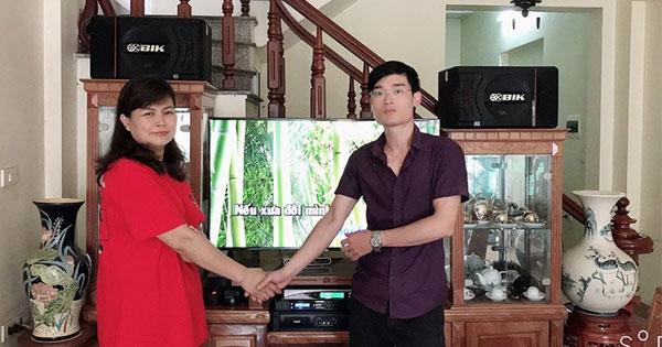 Lắp đặt dàn karaoke dưới 20 triệu cho anh Minh tại Hải Phòng