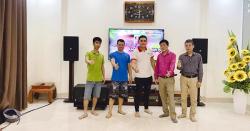 Lắp đặt dàn karaoke gia đình đẳng cấp cho anh Hà tại La Phù, Hà Nội