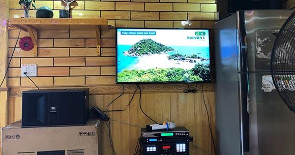Lắp đặt dàn karaoke giải trí trên tàu thủy trị giá hơn 20 triệu